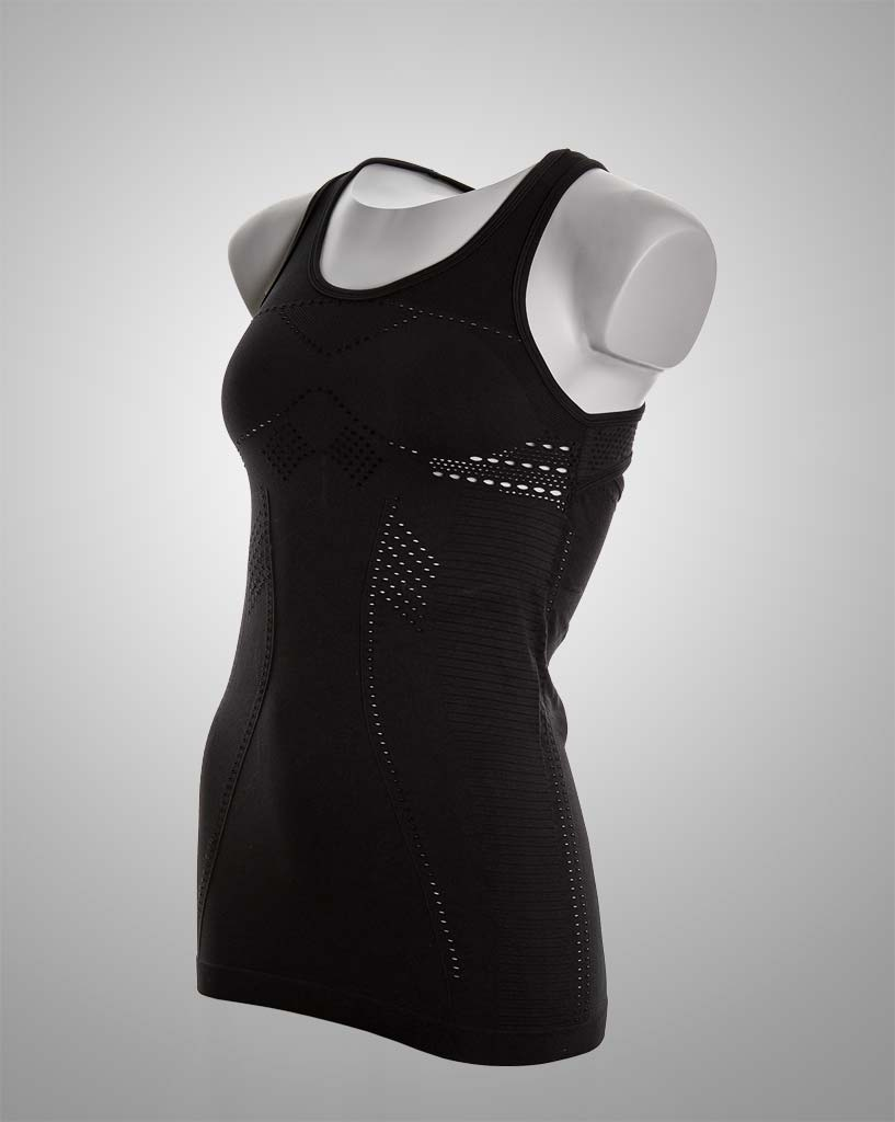 Womens top, compression wear for fitness and activity. Support and seamless by THRONE