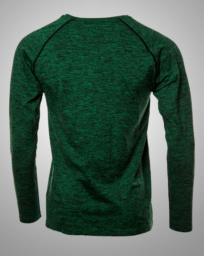 mens green tiger longsleeved by THRONE
