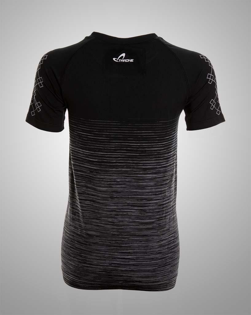 womens striped tshirt seamless apparel by THRONE
